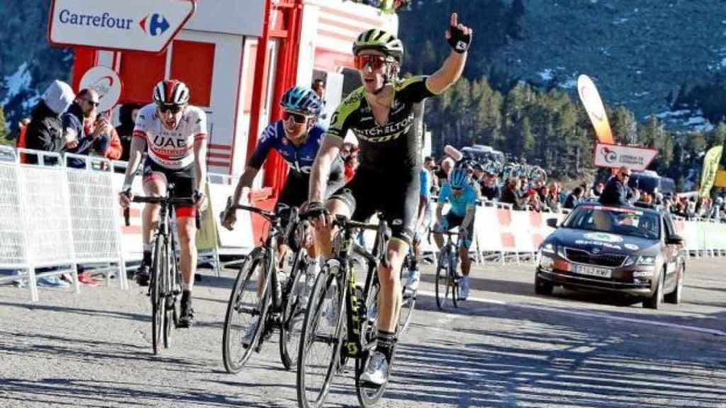 Adam Yates, en la Volta a Catalunya