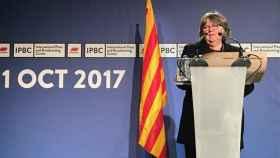 Helena Catt, en Barcelona el 2 de octubre de 2017./