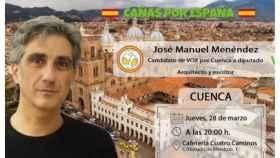 Vox convoca un evento en Cuenca y usa una imagen de Cuenca, Ecuador