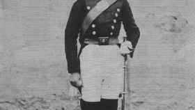 Primera imagen conocida de un guardia civil.