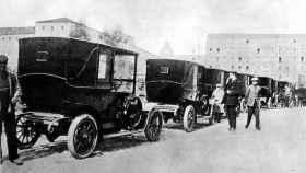 Primeros taxis de Madrid