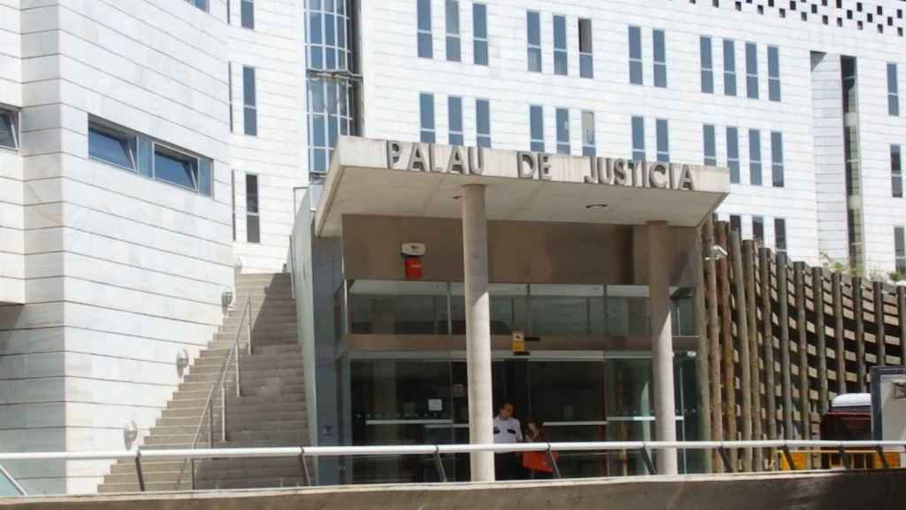 El Palau de justicia de Lérida.