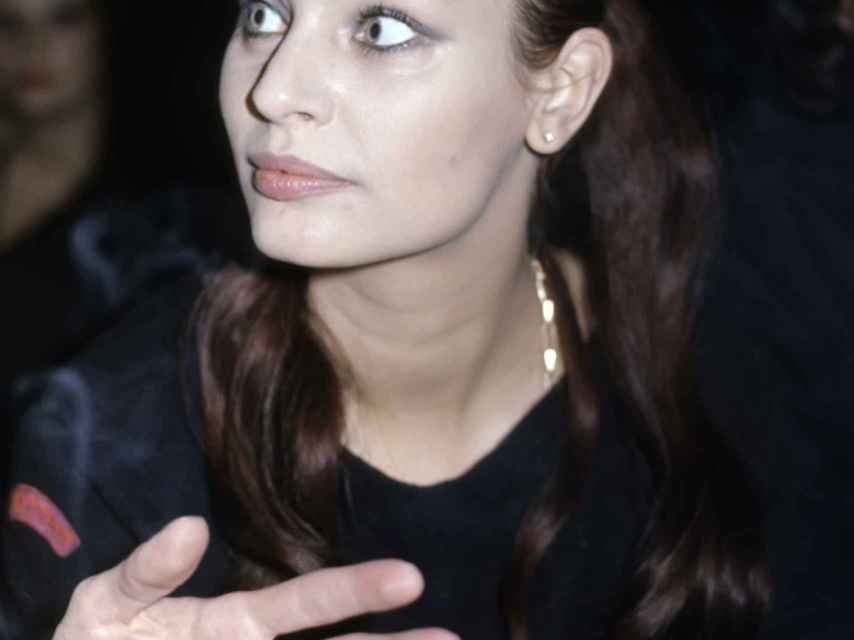La actriz Nadiuska en una imagen del año 1980.
