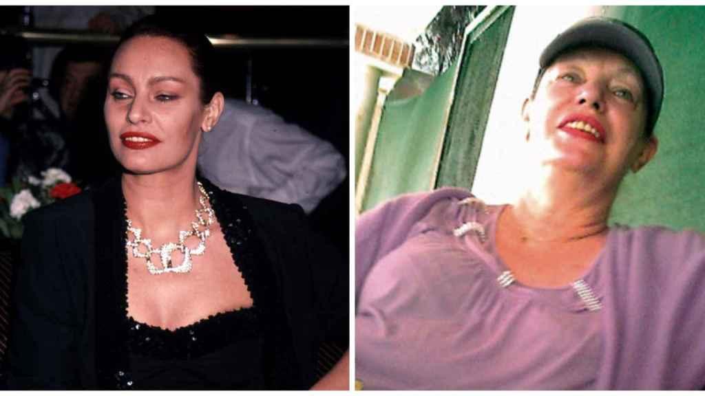 El antes y el después de Nadiuska en un montaje JALEOS.