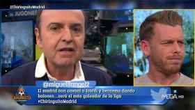 Juanma Rodríguez y Jota Jordi en El Chiringuito. Foto: Twitter (@elchiringuitotv)