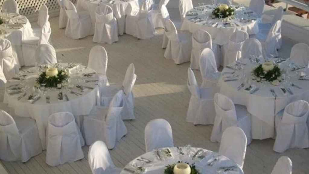 Salón de bodas. Foto: Europa Press