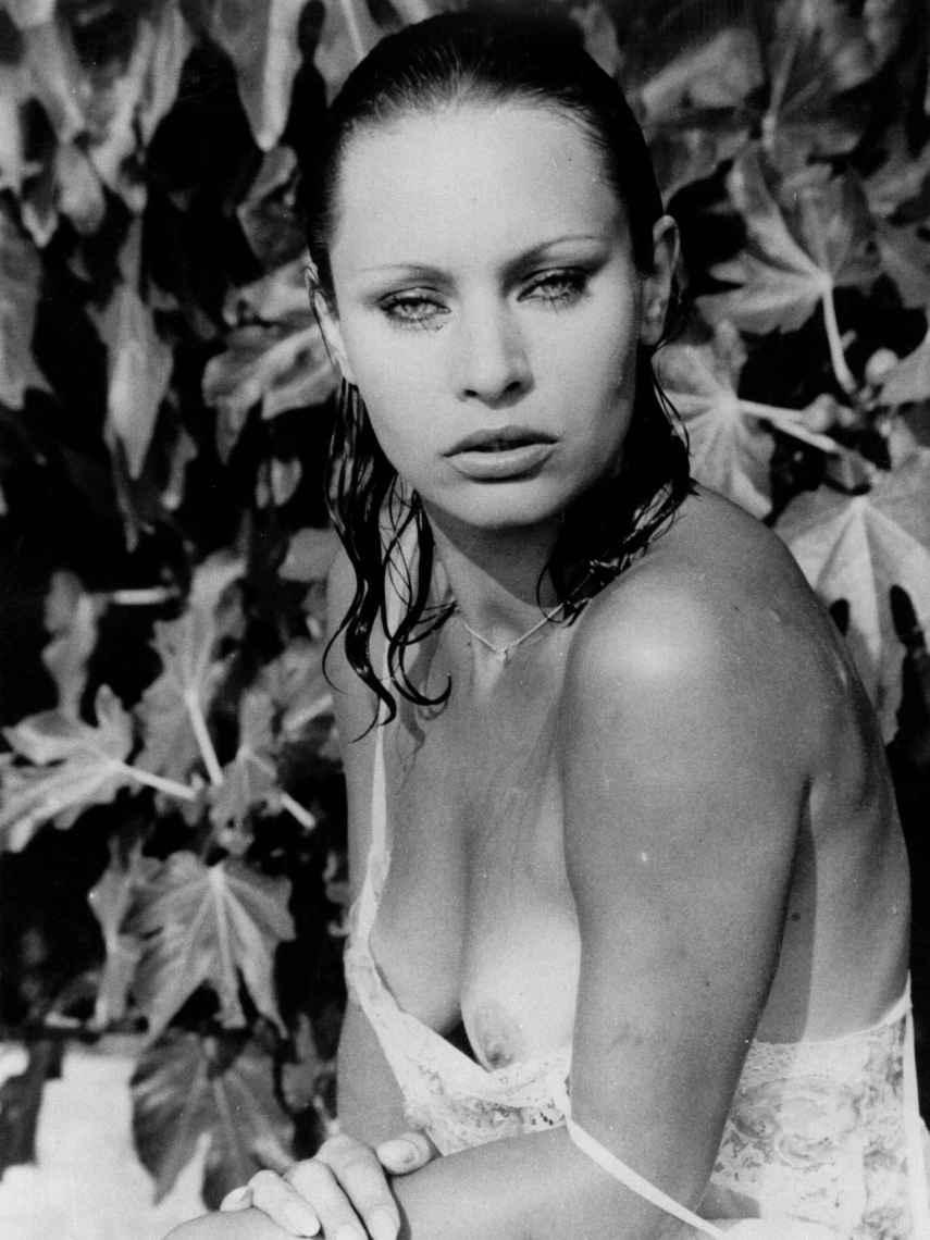La belleza de la actriz y modelo fue indiscutible.