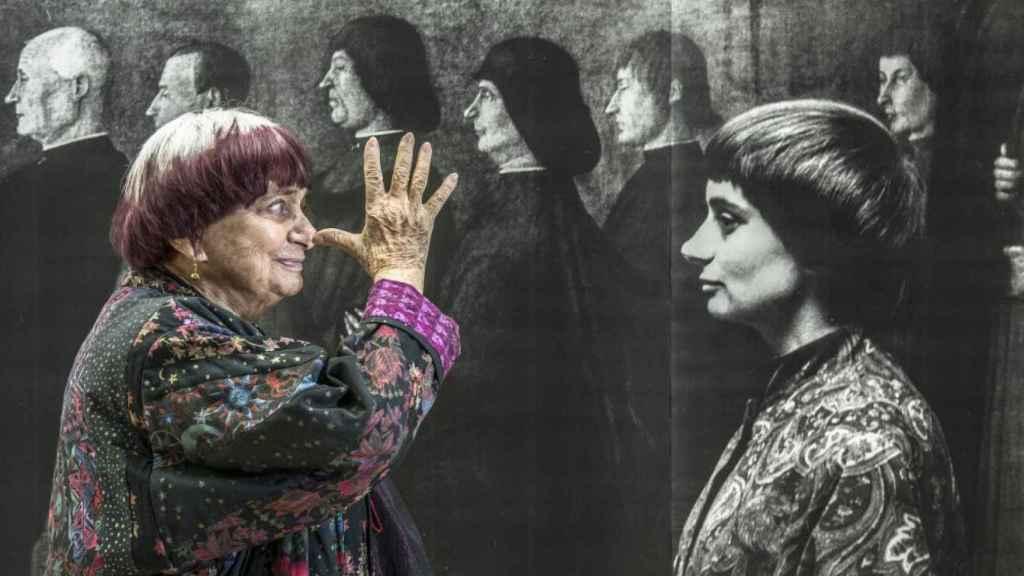 Agnès Varda en Caras y Lugares.