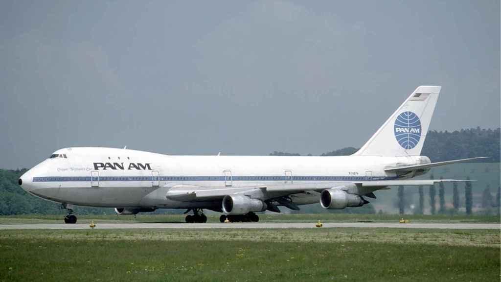 Boeing 747 de Pan Am.