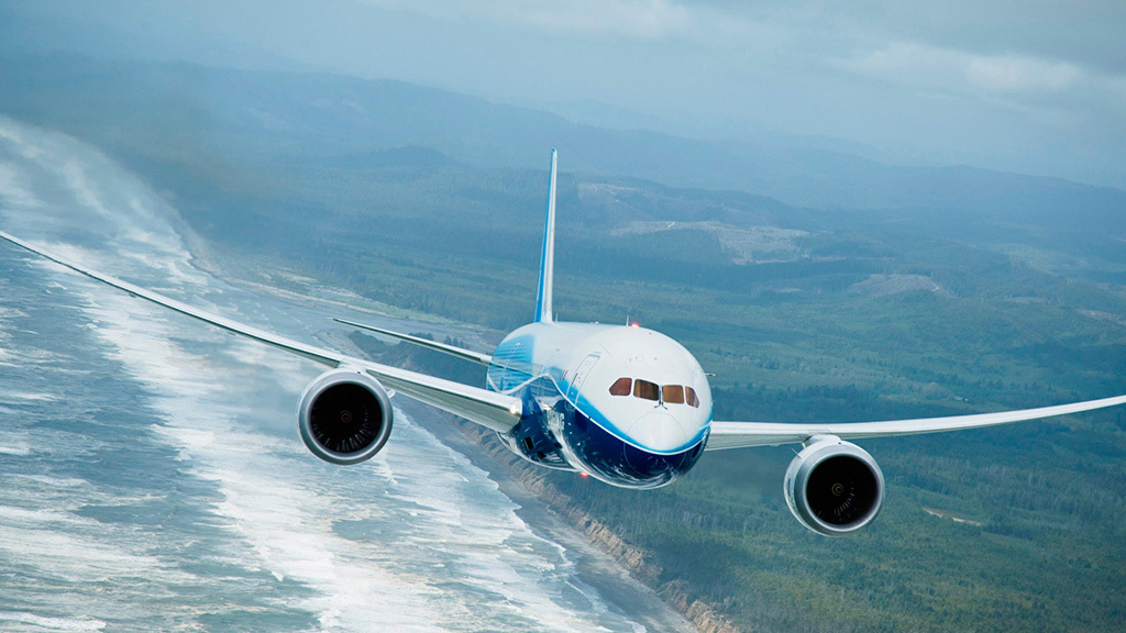 Modelo Boeing 787.