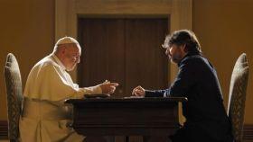 Évole entrevista a Jorge Bergoglio en el Vaticano