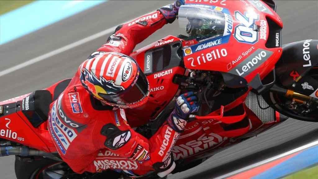 Dovizioso, durante su etapa en Ducati