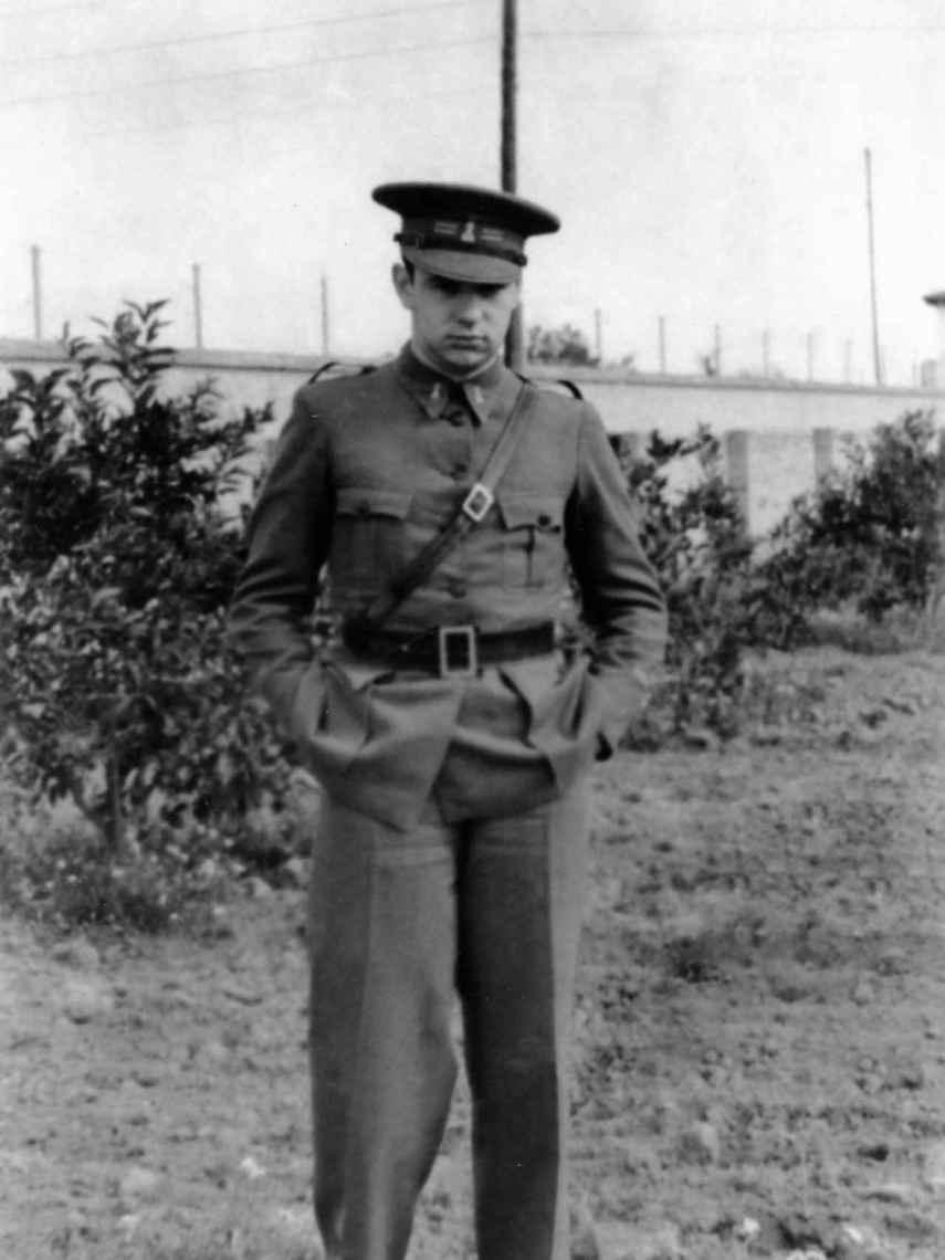 Fernando Rodríguez Miaja, retratado durante la guerra.