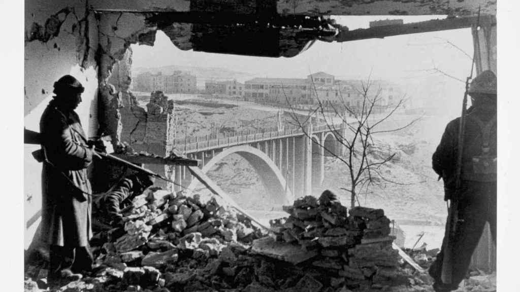 Teruel, frente de Aragón, 3 enero 1938.