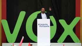 Santiago Abascal (Vox) en Barcelona.