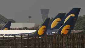 Aviones de Jet Airways.