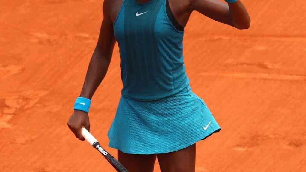 Cocco Gauff, promesa del tenis mundial. Foto: Twitter (@CocoGauff)