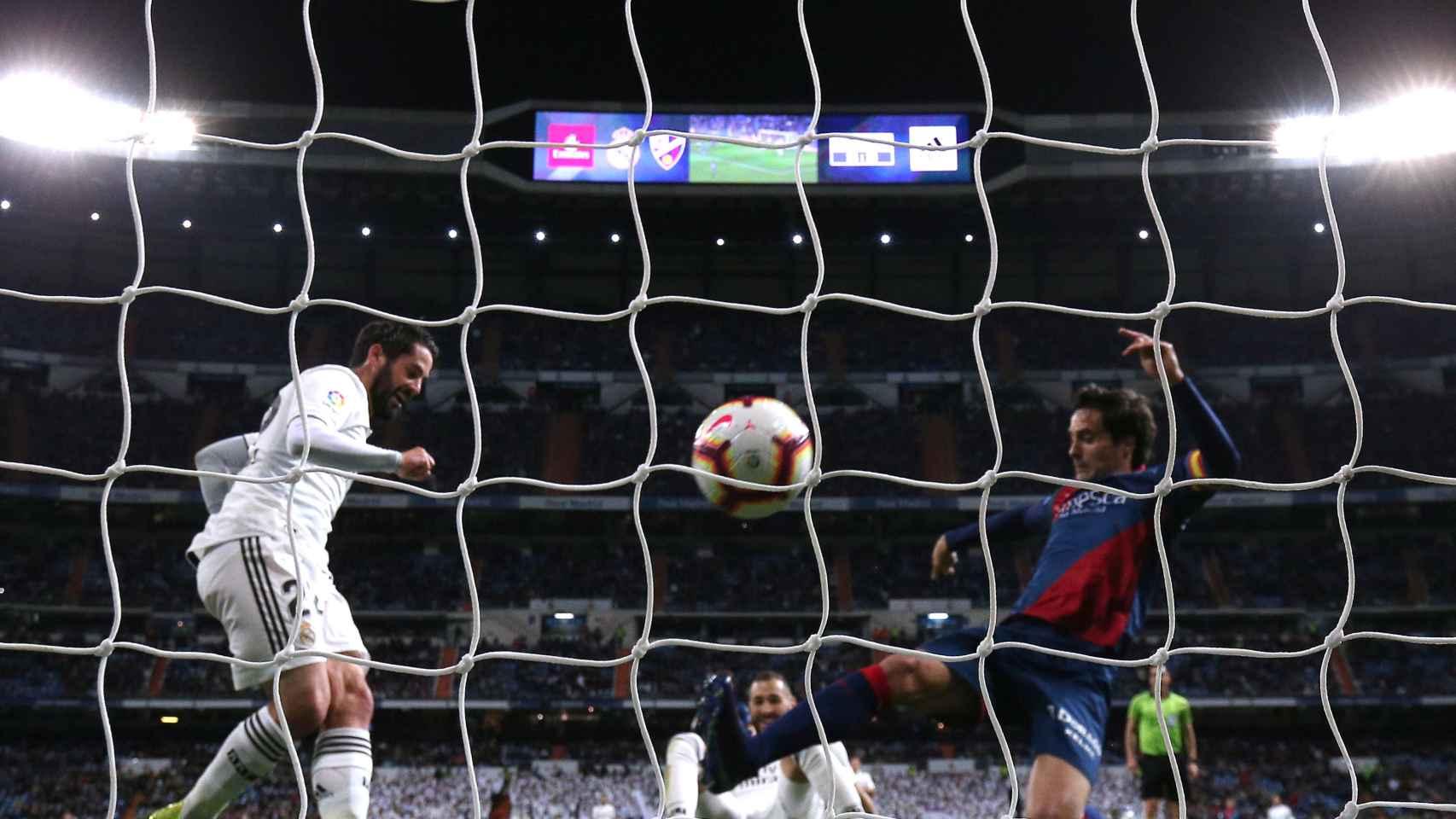 Isco marca el empate ante el Huesca