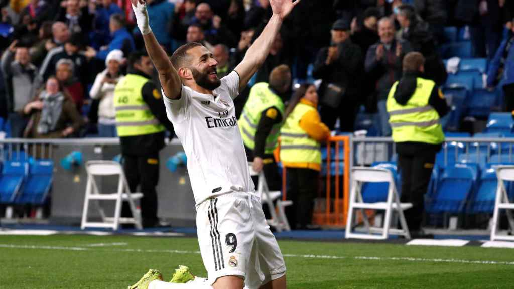 Karim Benzema, el salvador del Real Madrid