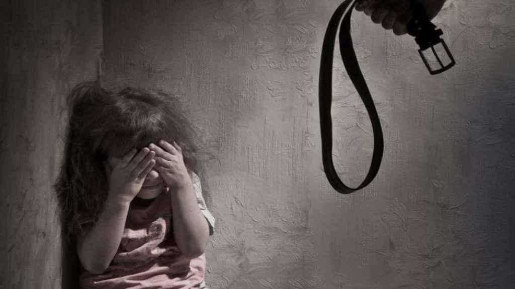 Imagen de una campaña contra el maltrato infantil.