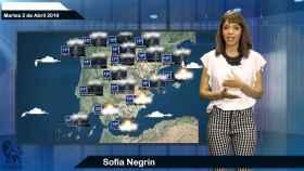 El tiempo: pronóstico para el martes 2 de abril