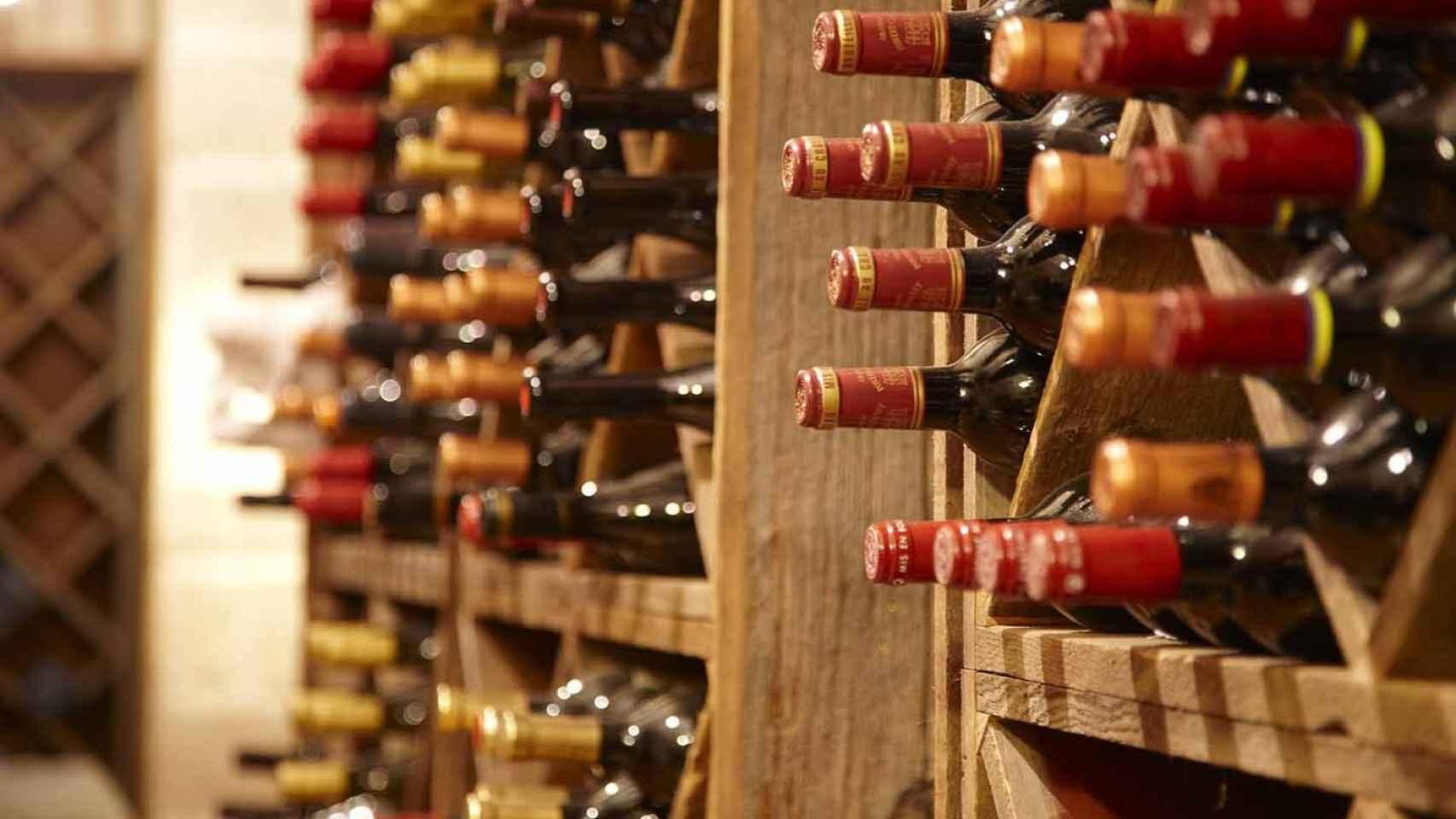El vino es un ente vivo y frágil que requiere un almacenamiento favorable.