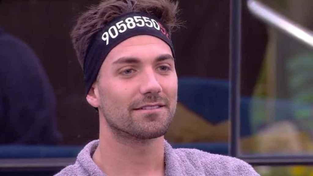 Alejandro Albalá al enterarse que es finalista de 'GH DÚO'.