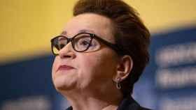La ministra de educación polaca Anna Zalewska.