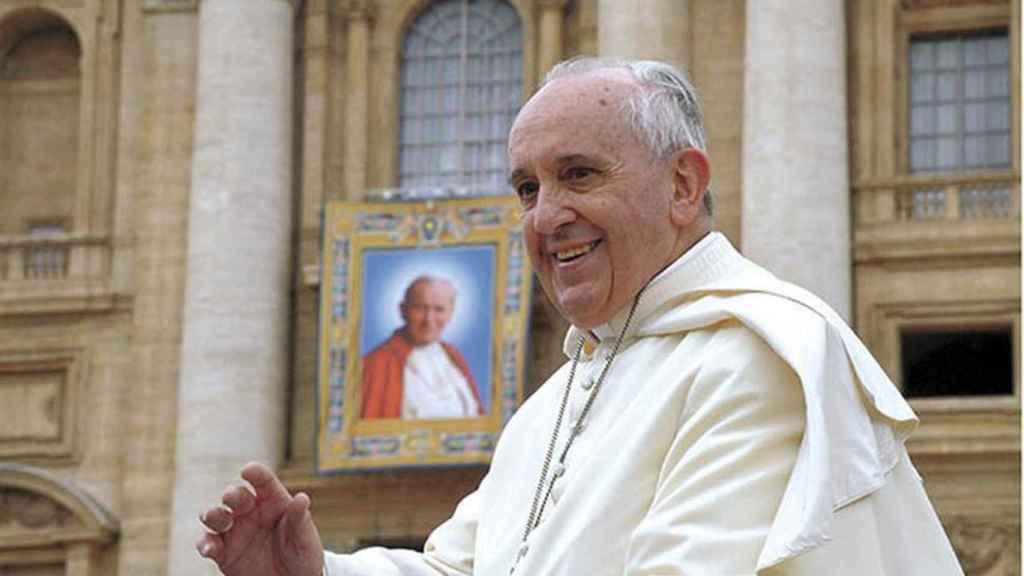 Canonización de Juan Pablo II por el Papa Francisco