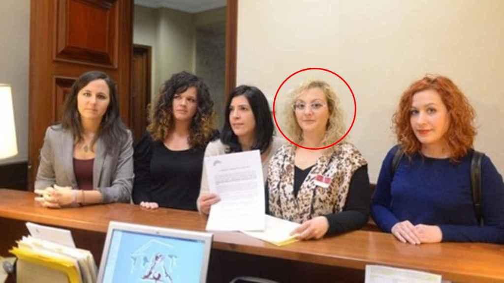 María Sevilla, presidenta de Infancia Libre