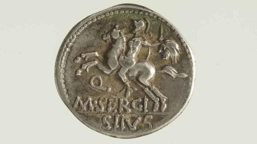 Denario romano (116-115 a.C.)