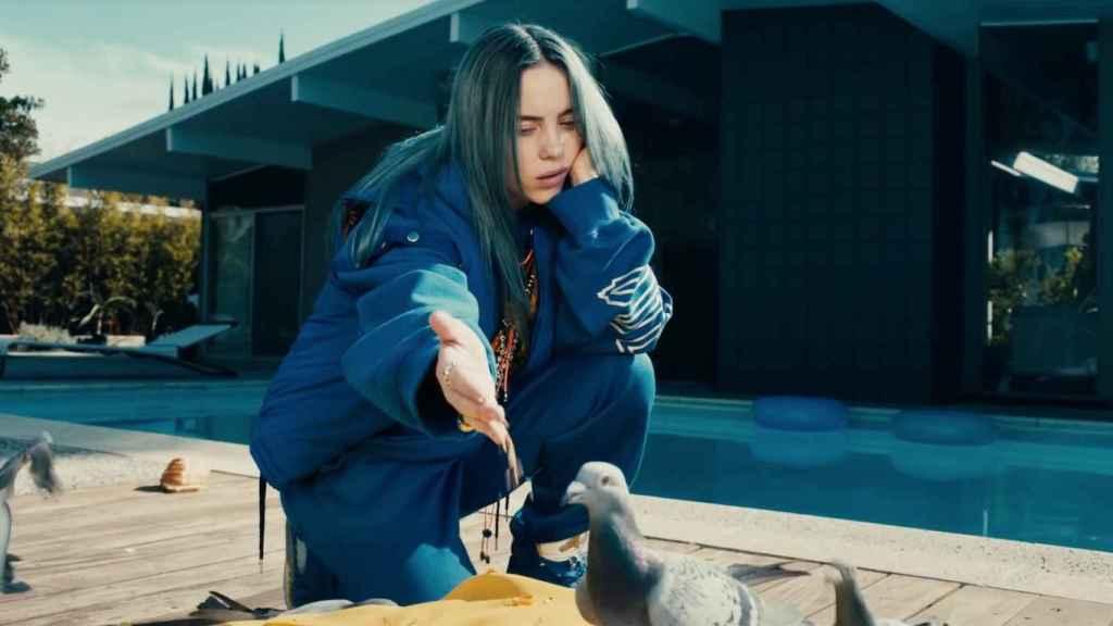 Fotograma del videoclip 'Bad Guy'.