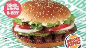 Impossible Whopper, la hamburguesa de Burger King que sabe a carne sin llevarla
