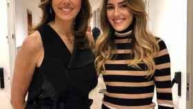 Paz Padilla y su hija Anna con la que se ha aventurado a formar un nuevo negocio.