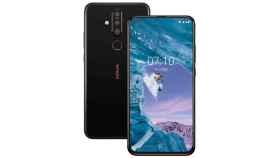 Nuevo Nokia X71, triple cámara trasera y agujero en pantalla