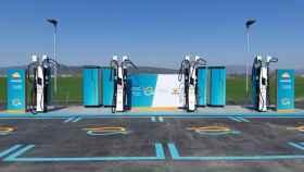 Primer punto de carga ultra-rápida en España. Foto: IBIL