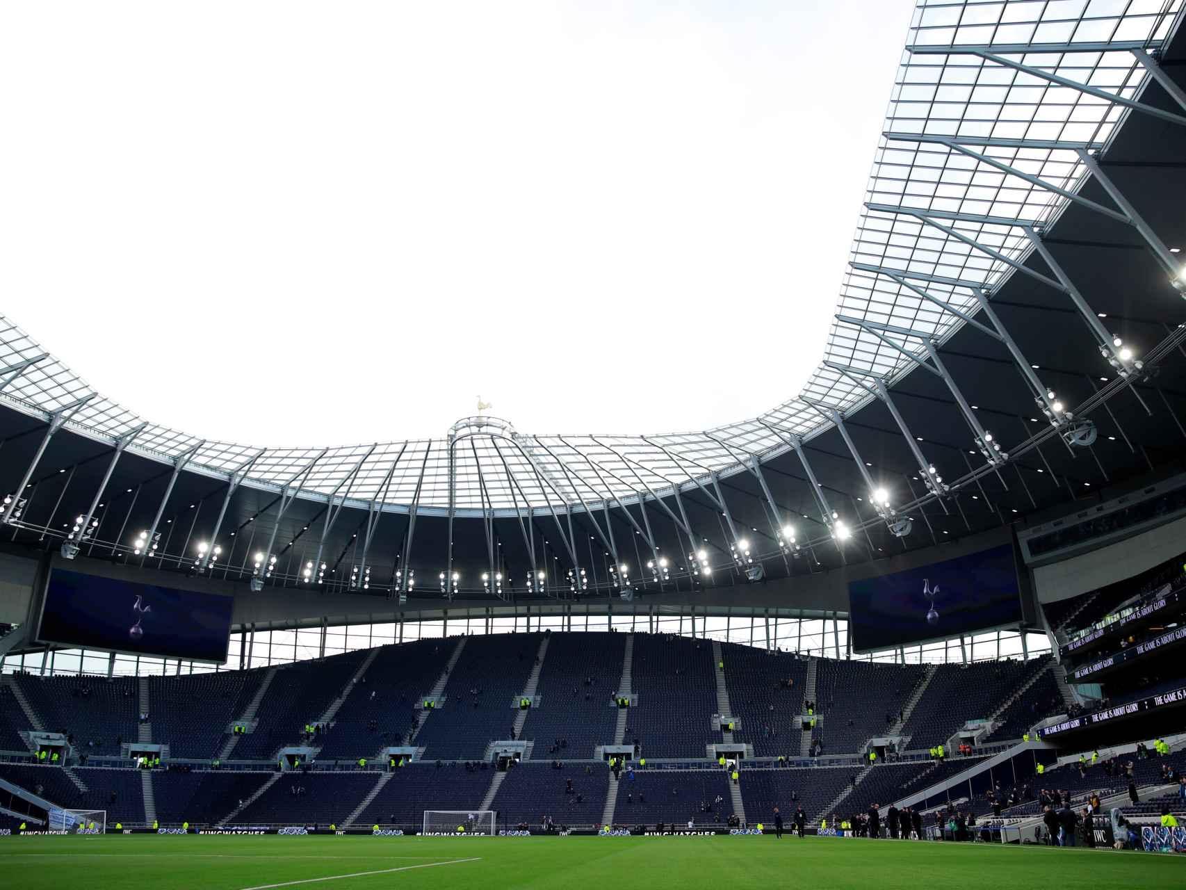 Colosal El Tottenham Hotspur Stadium Asi Ha Sido El Estreno Del Nuevo Estadio De Los Spurs