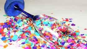 confetti papeles fiesta