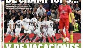 Portada Diario MARCA (4/4/2019)