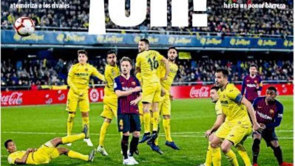 Portada Mundo Deportivo (4/4/2019)