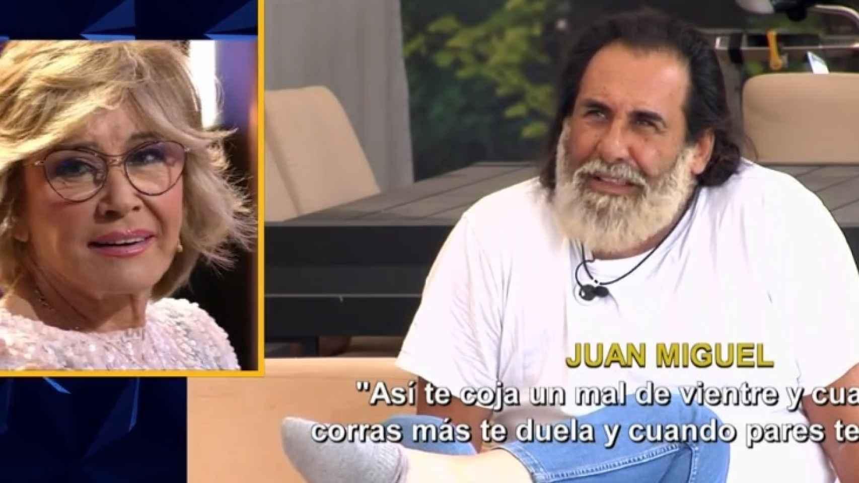 Juan Miguel habla de Mila Ximénez tras las críticas hacia él.