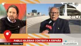 Pablo Iglesias, secretario general de Podemos, en Cuatro.