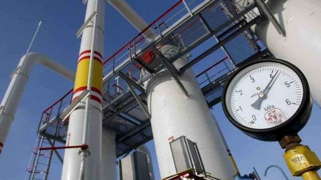 Una central de gas, en una imagen de archivo.