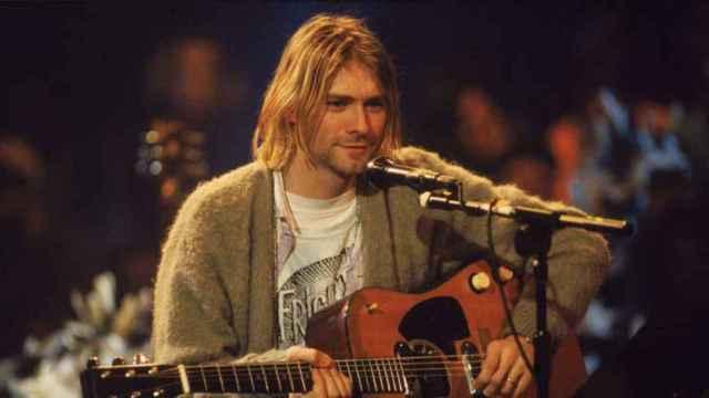 Kurt Cobain, cantante de Nirvana