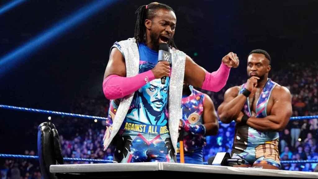 Kofi Kingston durante SmackDown Live. Foto: wwe.com