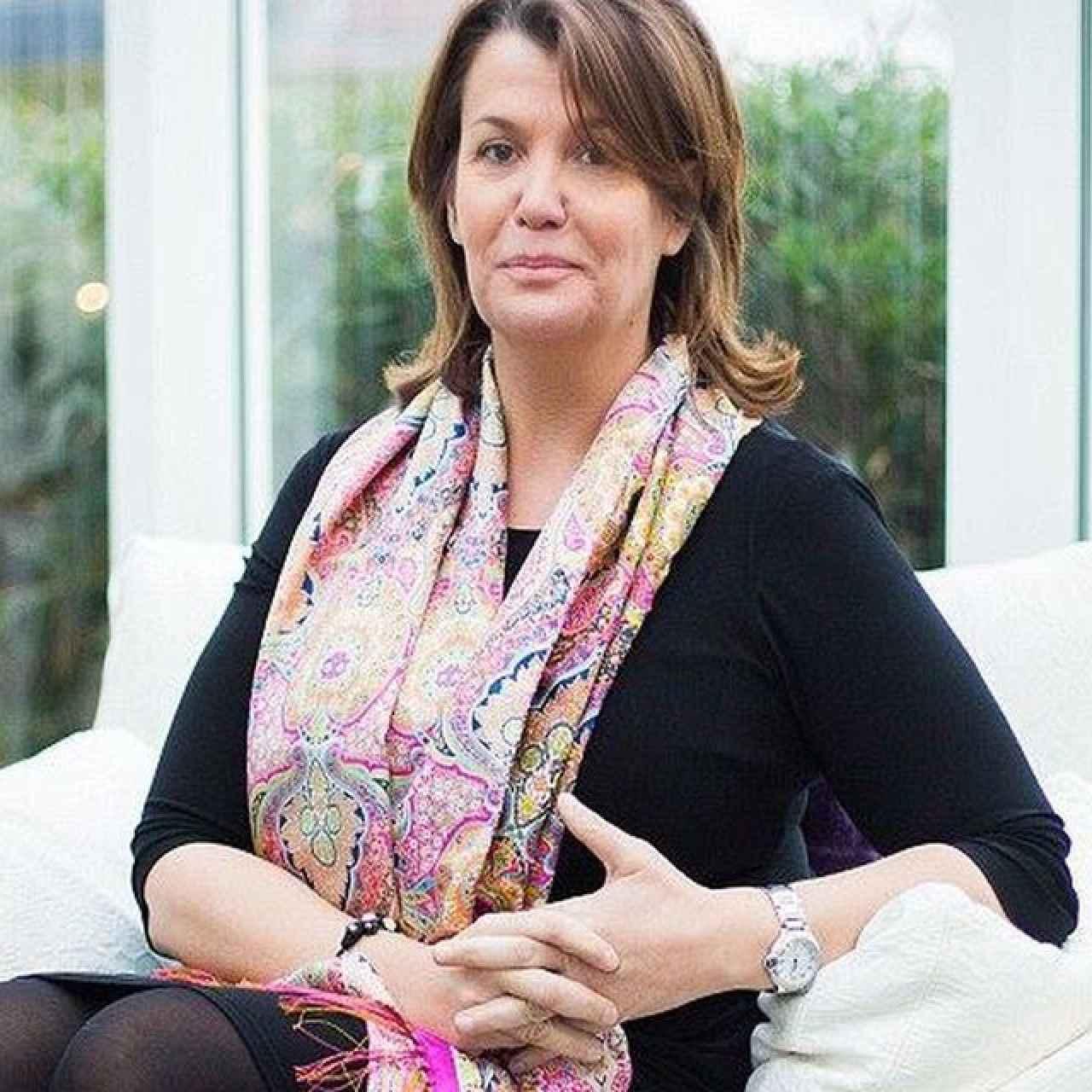 Ingrid Sartiau, la supuesta hija ilegítima de Juan Carlos I.