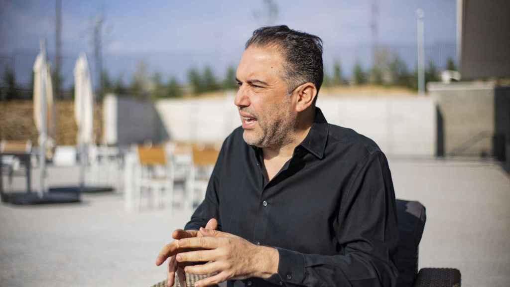 Francisco Ramos durante su conversación con EL ESPAÑOL.
