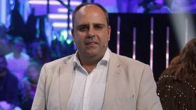 Julio Ruz durante uno de los programas en los que participa en Telecinco.