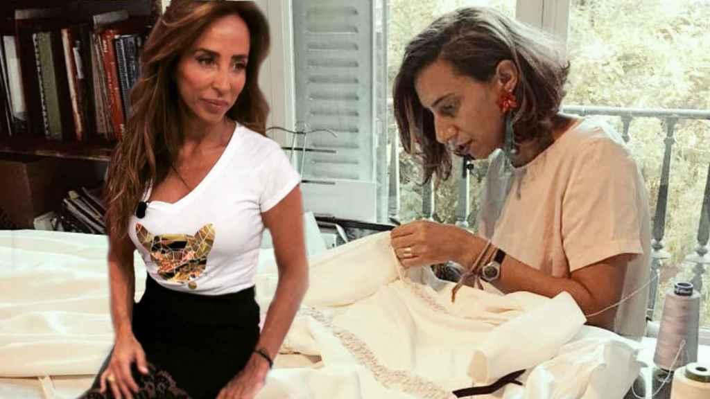 María Patiño y Laura Caicoya en un montaje de Jaleos.