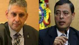 José Ángel Fuentes Gago y Rafael Isea.